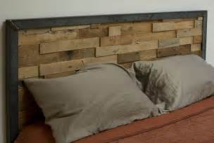 reclaimed wooden headboard how to make a reclaimed wood headboard frame loom plans