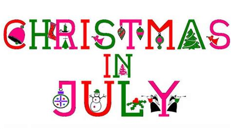 tis the season to go shopping christmas in july craft show