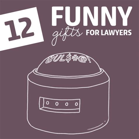 12 insanely funny gifts for lawyers dodo burd