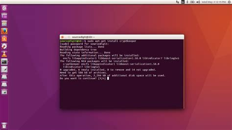 ubuntu how to encrypt how to password protect folder in linux encrypt folder