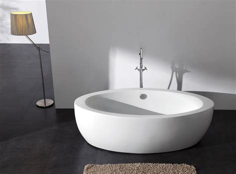 Modern Bathroom Without Tub Brizio Acrylic Modern Freestanding Soaking Bathtub 73