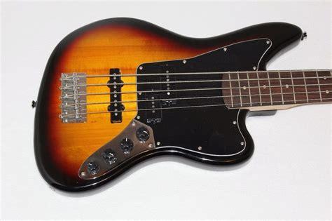 squier jaguar bass v fender squier vintage modified jaguar bass v electric bass