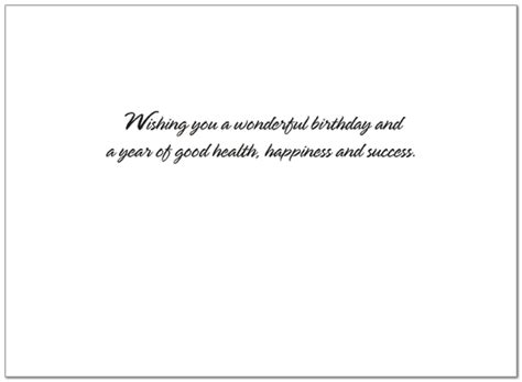 Official Letter Birthday Wishes Formal Wall Birthday Card Financial Birthday Posty Cards