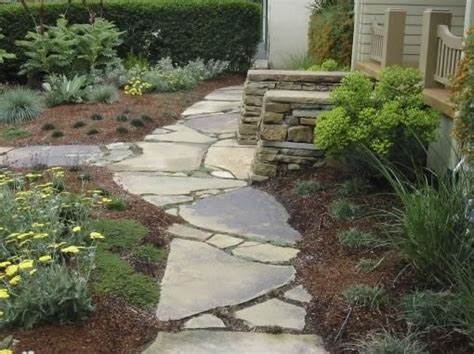 Design Ideas For Flagstone Walkways Flagstone Walkway Los Osos Ca Photo Gallery Landscaping Network