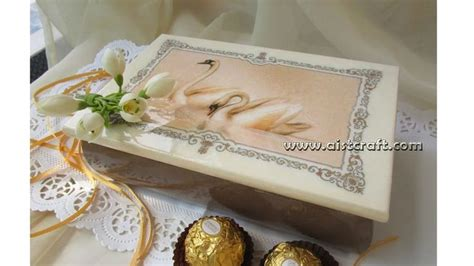 Tutorial X Decoupage | decoupage tutorial for beginners diy wedding gift box