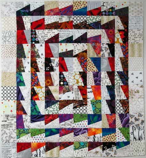 Color Quilt Exuberant Color Fractured Block Quilts