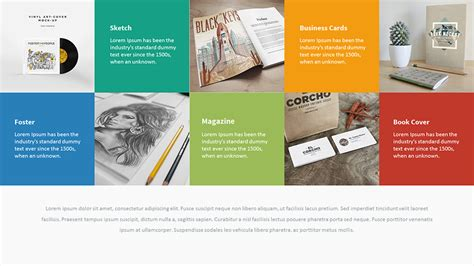 powerpoint portfolio template mercurio powerpoint presentation template by eamejia