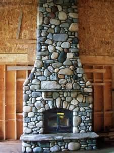 fireplace river rock image detail for river rock fireplace living room dec