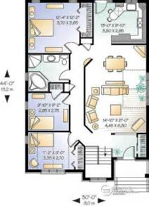 Open Concept Bungalow Floor Plans House Plan W3313 Detail From Drummondhouseplans