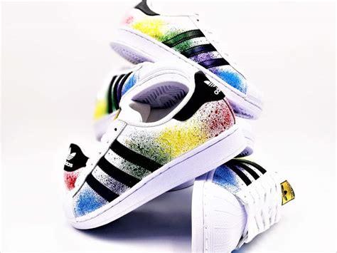 Adidas Color Splash For Man40 44 adidas color splash superstar g customs