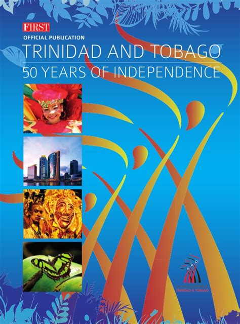 50 years of book pictures and tobago 50th anniversary book editorial only