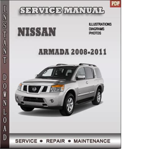 electric power steering 2010 nissan armada security system 2008 2011 nissan armada service repair manual