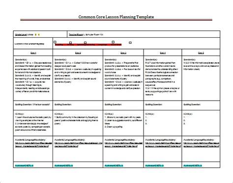8 Lesson Plan Templates Free Sle Exle Format Download Free Premium Templates Common Lesson Plan Template