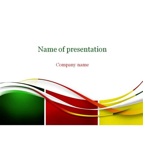 abstract powerpoint template background for presentation