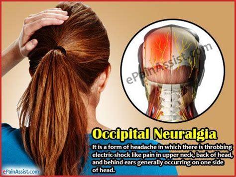 occipital neuralgia or c2 neuralgia can cause very intense