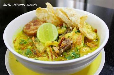 resep soto jeroan kuning bogor asli enak resep masakan