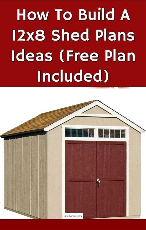 shed plans materials list   pics  storage
