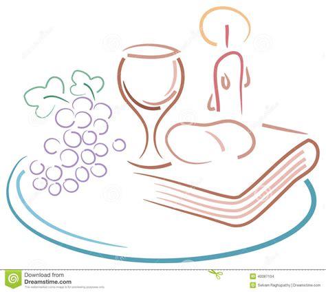 clipart prima comunione disegno di comunione santa illustrazione vettoriale