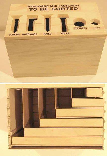 hardware sorting box   boxes  fasteners