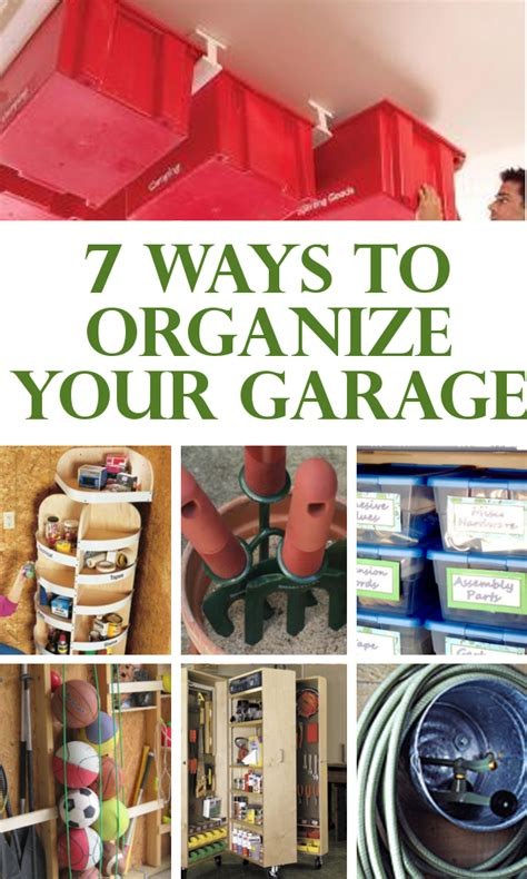 diy home sweet home 7 ways to organize your garage - Ways To Organize Your Garage