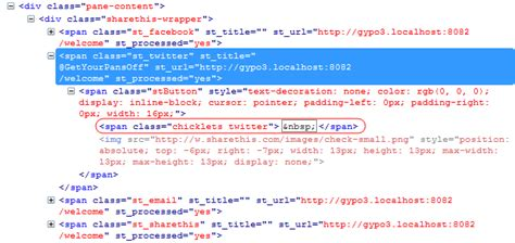 html layout span html how to get rid of an automatically generated span