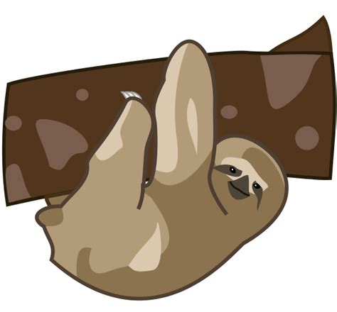 sloth clipart sloth clipart clipart suggest