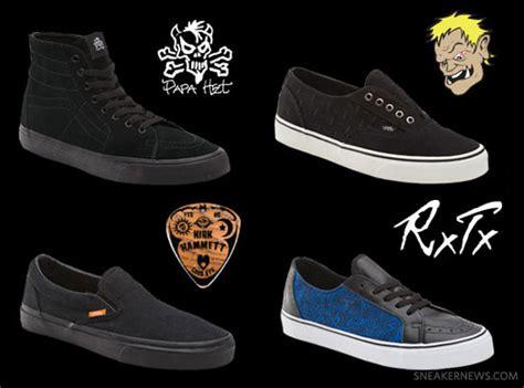 Vans Era Metallica metallica x vans signature collection sneakernews
