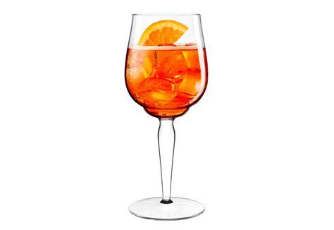 bicchieri aperol un calice di design per l aperol spritz lo firma luca