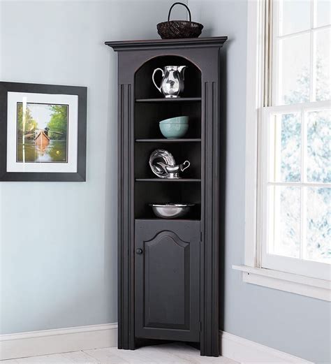 Richmond Corner Cabinet In Chestnut For Entry Way By Black Corner Cabinet For Kitchen