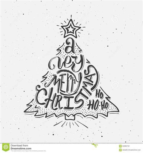 imagenes de merry christmas en blanco y negro black and white vintage poster merry christmas stock