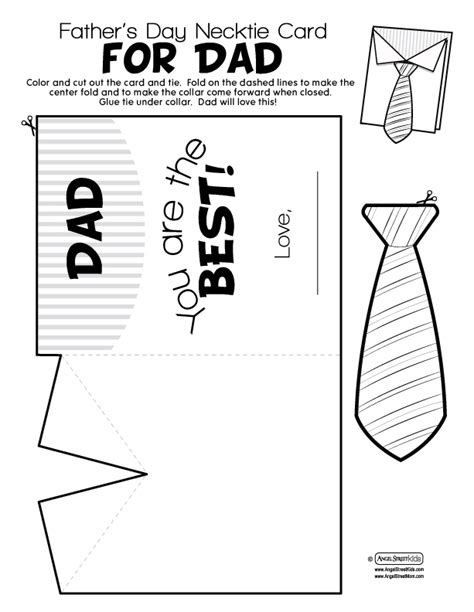 free printable fathers day cards template s day printables gift ideas