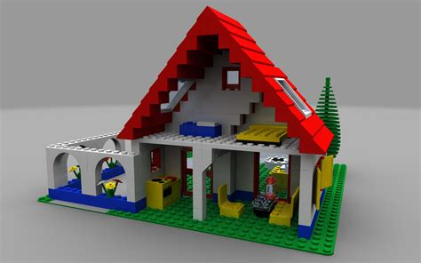 Lego Home by Lego Home Rear View By Zpaolo On Deviantart