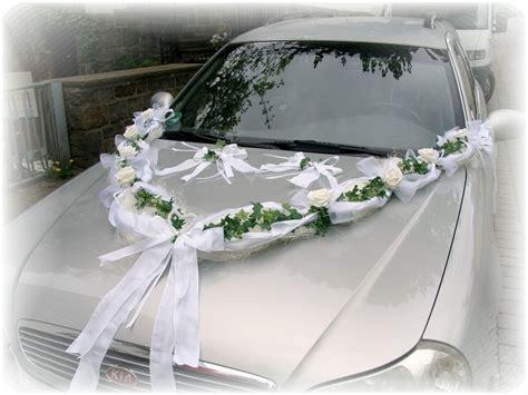 Autodeko Hochzeit by Autoschmuck Autodeko Hochzeit Autoschleife Schleife