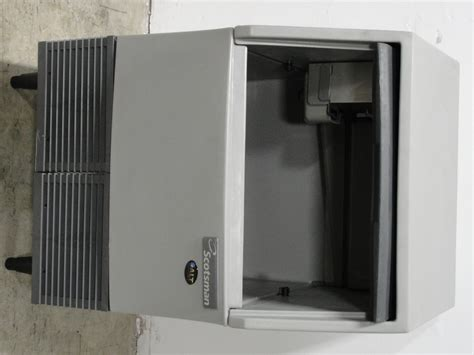 refurbished scotsman scea  undercounter air cooled ice maker