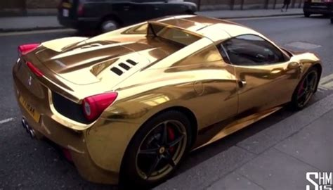 chrome gold ferrari image gallery lil wayne cars