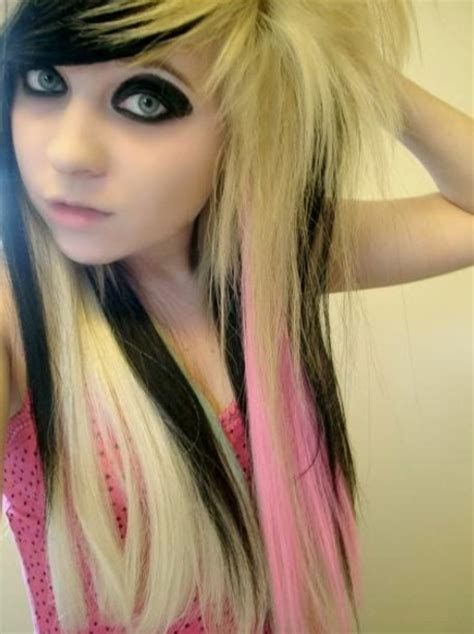 emo chick hairstyles emo hairstyles for girls latest popular emo girls