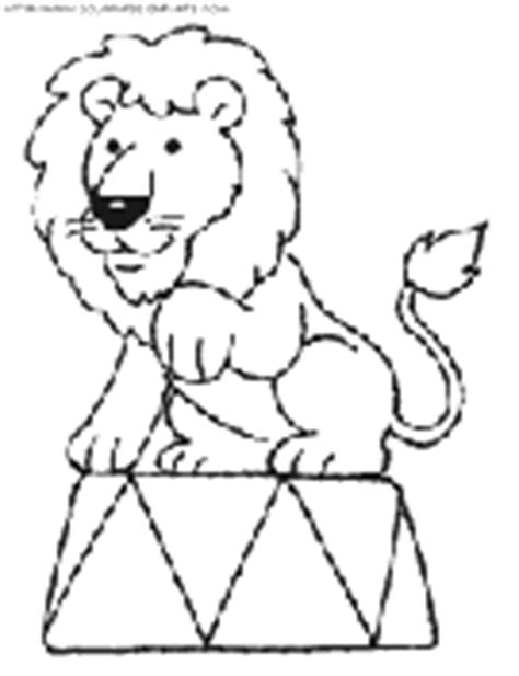 circus lion coloring pages circus coloring book pages to print free circus