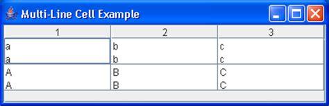 java swing grid table multiline header exle grid table 171 swing components