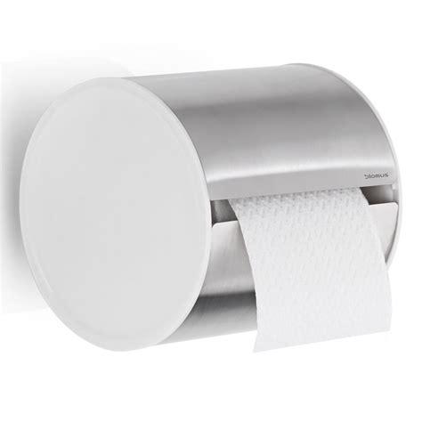 modern toilet paper holder blomus sento round toilet paper holder design