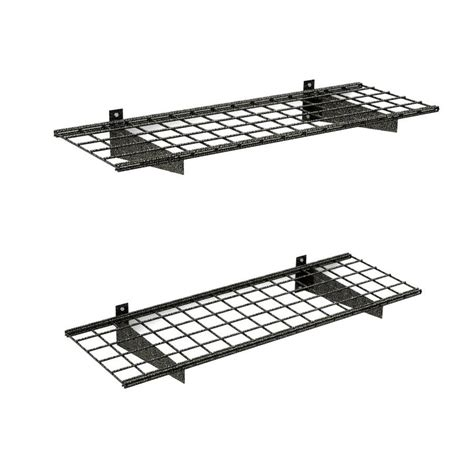 shop hyloft 2 pack metal utility shelving at lowes