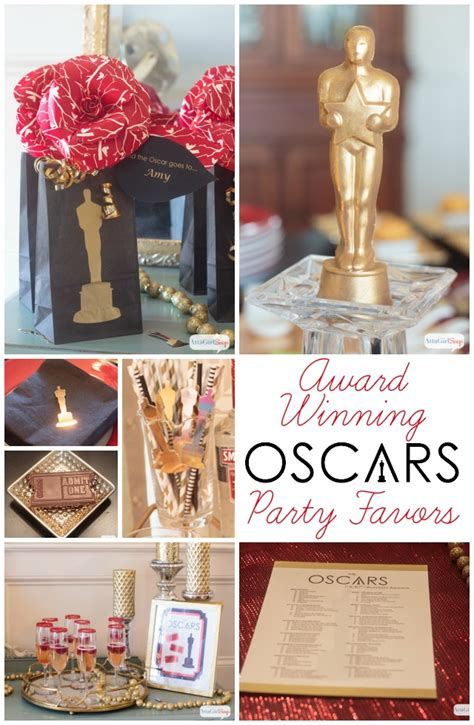 oscar themed decoration ideas award winning oscars favors decor atta says