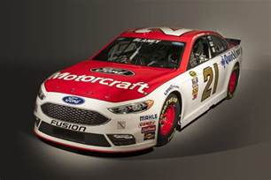new car racing 2016 ford fusion nascar sprint cup racer adopts new look