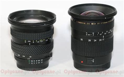 Lensa Tokina 19 35mm tokina af 193 19 35 mm f 3 5 4 5 review build quality lenstip