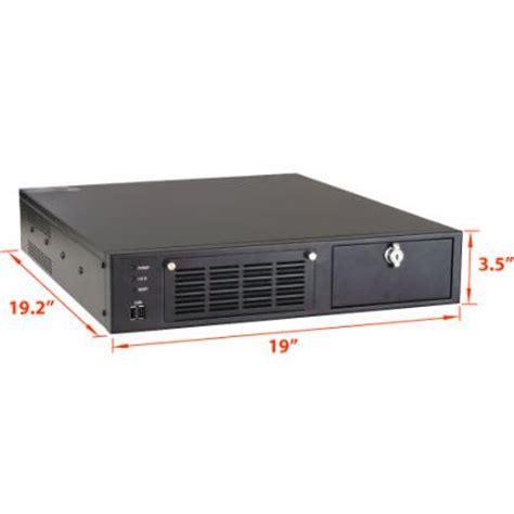 Rack Mount Computer by 2u 19 2 Quot Depth Industrial Rack Mount Computer With 5 Pci