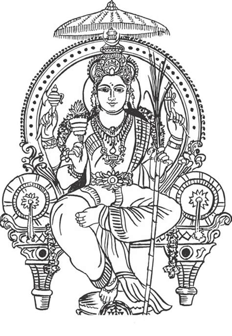 Shiva Coloring Pages To Print