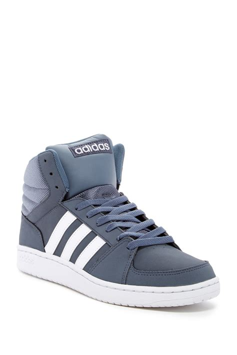 Original Adidas Hoops Mid Top adidas originals hoops vs mid sneaker in blue for lyst