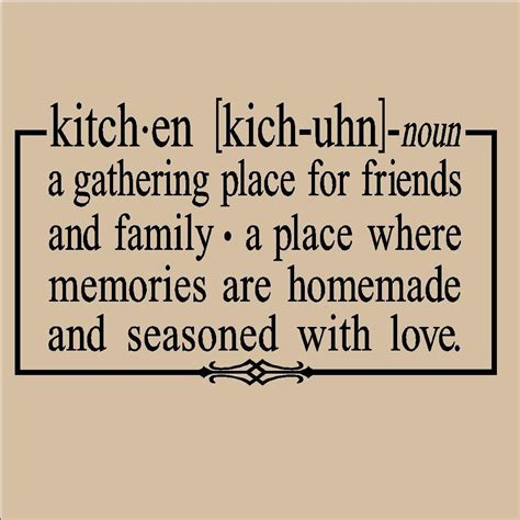 Definition Of Kitchen | kitchen noun definition 12 5x21 vinyl by vinyllettering on