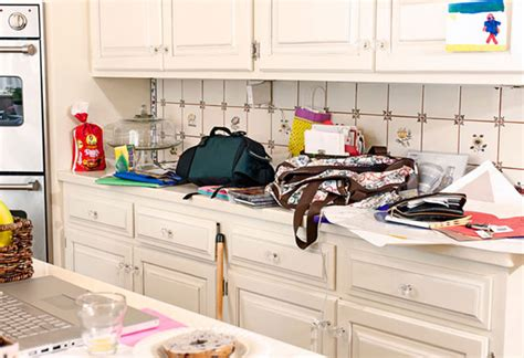 Organize Kitchen Counter Clutter by Organize Your Home For Summer Summer Organizing
