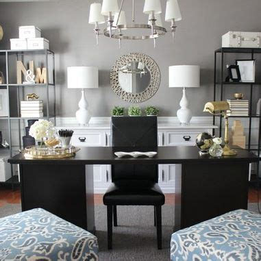 black and white home office decorating ideas 3 ways to create the perfect home office dot com women