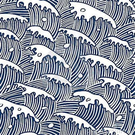 japanese pattern watercolor japanese waves grafik pinterest sea waves patterns